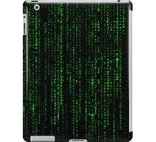 Matrix Pattern iPad Case/Skin