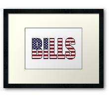 Bills Framed Print