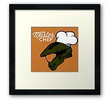 The Master Chef (Modern) Framed Print