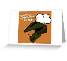 The Master Chef (Modern) Greeting Card