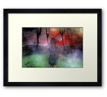 Questioning Framed Print