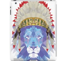 İndian Headdress Lion iPad Case/Skin