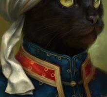 The Hermitage Court Moor Cat  Sticker