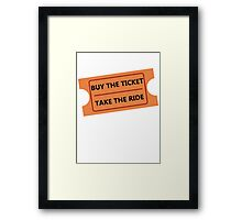 Fear and Loathing in Fair Grounds Framed Print