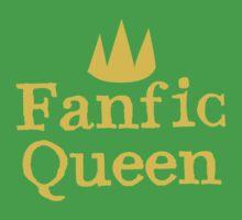 Fanfic queen Kids Tee