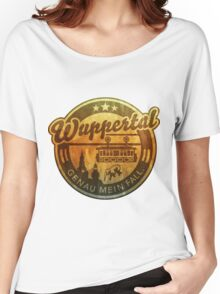 Wuppertal - genau mein Fall, distressed Women's Relaxed Fit T-Shirt