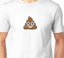 Funny poop emoij Unisex T-Shirt