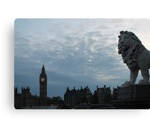 The Lion of London Canvas Print