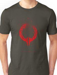 Broken Circle - Red Unisex T-Shirt