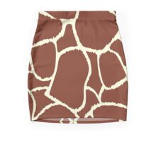 Giraffe seamless pattern texture Mini Skirt
