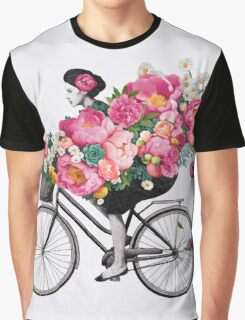 floral bicycle  Graphic T-Shirt