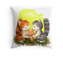 For LOVERS. For BELOVED. For FAMILY, For FRIENDS Throw Pillow