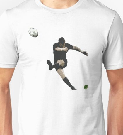 Rugby Goal Kick Illustration Unisex T-Shirt