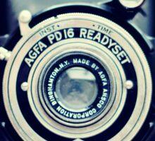 Agfa Readyset Vintage Camera Sticker