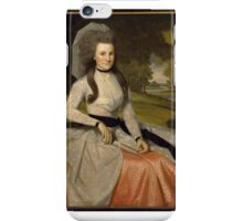 Ralph Earl (American, ). Clarissa Seymour (later Mrs. Truman Marsh), . iPhone Case/Skin