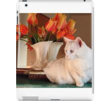 Snowball and the Tulips iPad Case/Skin