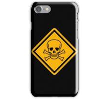 Caution! Pirates iPhone Case/Skin