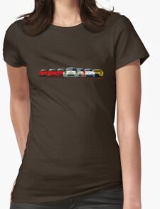 History Mazda RX-7 Womens Fitted T-Shirt