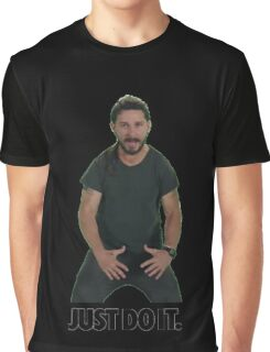 Shia LaBeouf Just Do It Graphic T-Shirt