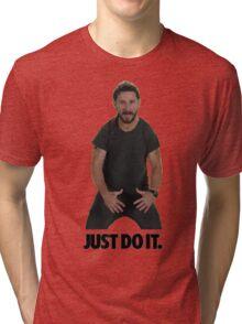 Shia LaBeouf Just Do It Tri-blend T-Shirt