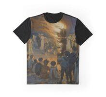 Midsummer Eve Bonfire on Skagen Beach  Graphic T-Shirt