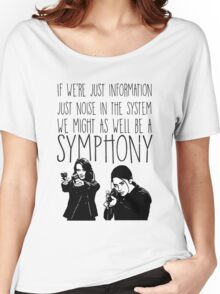 Root and Shaw - Symphony - Person of interest Women's Relaxed Fit T-Shirt