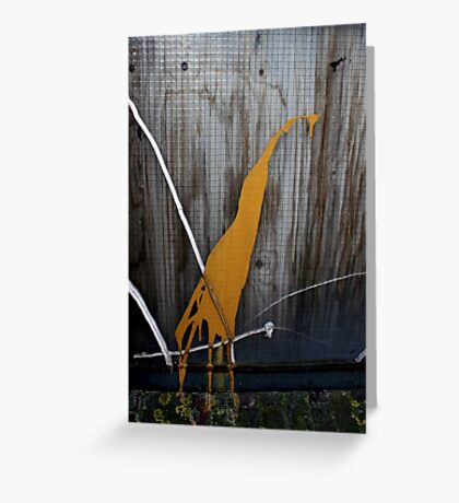 Urban Zoo Creature Greeting Card