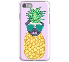 pineapple pug iPhone Case/Skin