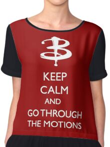 Go through the motions Chiffon Top