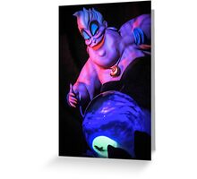 Ursula the Sea Witch Greeting Card