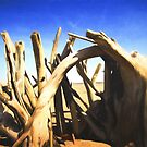 Driftwood Sculpture by Shawna Rowe