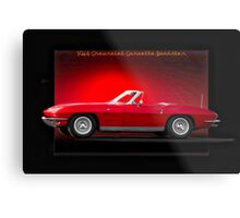 1964 Chevrolet Corvette C2 Roadster Metal Print