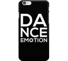 Dance Emotion t-shirt with red heart iPhone Case/Skin