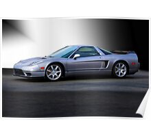 NSX 'Sterling' Acura Coupe Poster