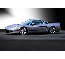 NSX 'Sterling' Acura Coupe Photographic Print