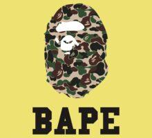 Bape Camo One Piece - Short Sleeve