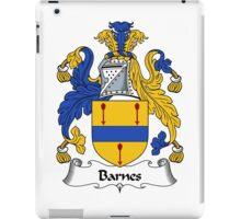 Barnes Coat of Arms / Barnes Family Crest iPad Case/Skin