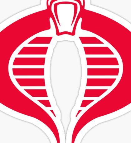 COBRA Insignia Sticker