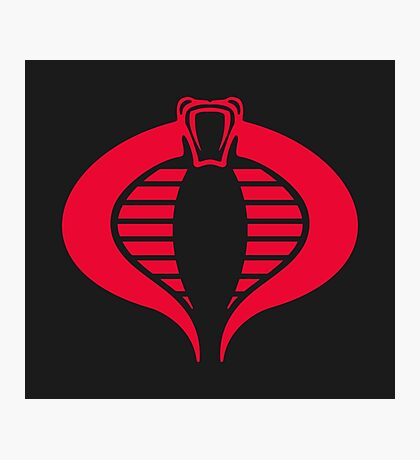 COBRA Insignia Photographic Print