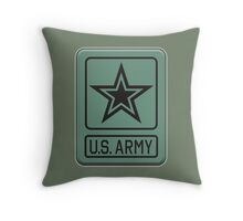 ARMY, United States, America, American, Shoulder Sleeve, Insignia, Headquarters,  Throw Pillow