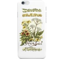 Herbal iPhone Case/Skin