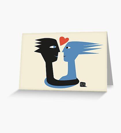 Love! Liebe! Greeting Card