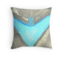Nightwing Throw Pillow