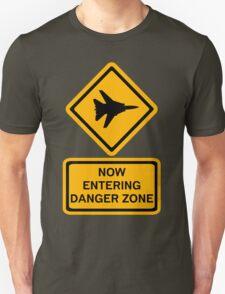 Danger Zone - Entering Unisex T-Shirt