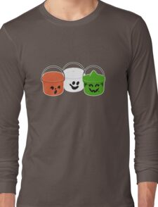 Happy Meal in Gray Long Sleeve T-Shirt