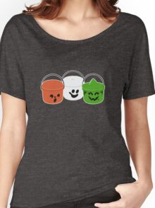 Happy Meal in Gray Women's Relaxed Fit T-Shirt