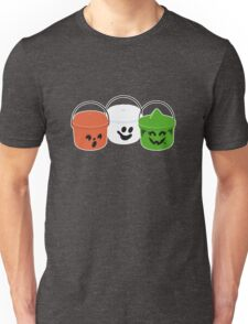 Happy Meal in Gray Unisex T-Shirt