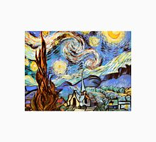 Starry night a Tribute to Vincent Vangogh Unisex T-Shirt