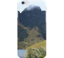 Volcano at Lake Mohanda iPhone Case/Skin