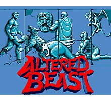 ALTERED BEAST - SEGA ARCADE Photographic Print